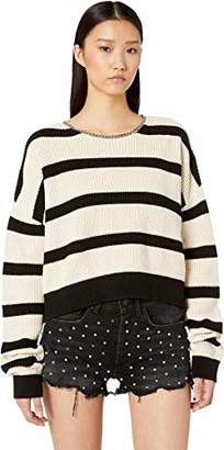 The Kooples Women's Women's Striped Pullover with Chains