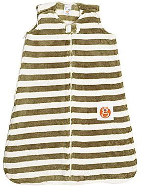 JCPenney Gunamuna Gunapod Striped Fleece Wearable Blanket - Moss