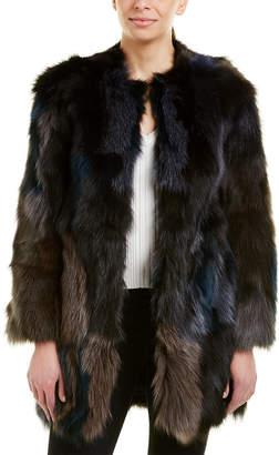 Jocelyn Fuzzy Coat