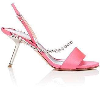 Ballin ALCHIMIA DI Women's Pethia Satin Slingback Sandals - Pink