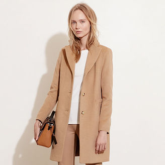 Ralph Lauren Wool-Blend 3-Button Coat $220 thestylecure.com
