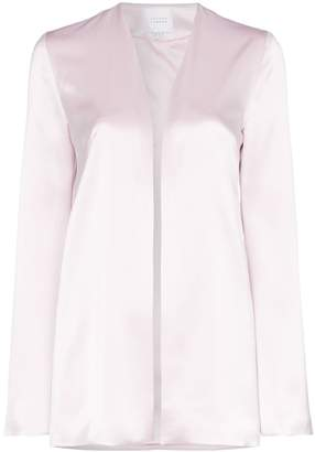 Galvan bell-sleeved evening jacket