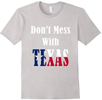 "Unique Texas T-Shirt ""Don't Mess with Texas"""