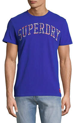 Superdry Cotton Logo Embossed Tee