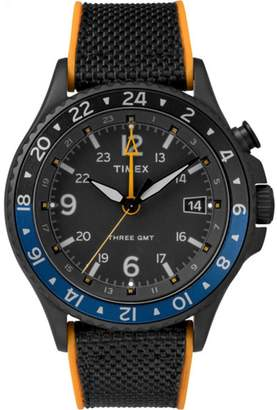Timex Iq Technology 3-gmt Case