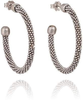 Silver Spring Durrah Jewelry Hoop Earrings