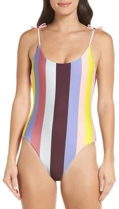 Ted Baker Penolia Rio Stripe One-Piece Swimsuit