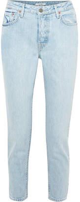 GRLFRND Kiara Slim Boyfriend Jeans - Mid denim