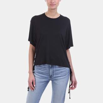 KENDALL + KYLIE Kendall & Kylie Lace Up Boxy Tee