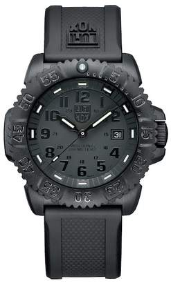 Luminox Men's Navy Seal Blackout Sport Watch, 45mm
