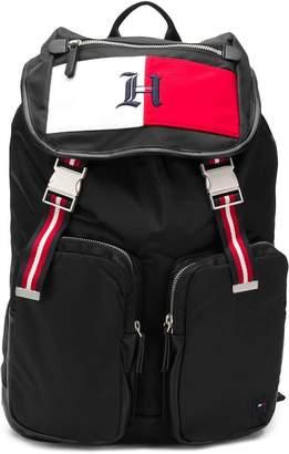 Tommy Hilfiger buckled backpack