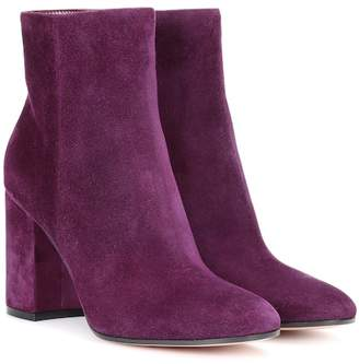 Gianvito Rossi Rolling 85 suede ankle boots