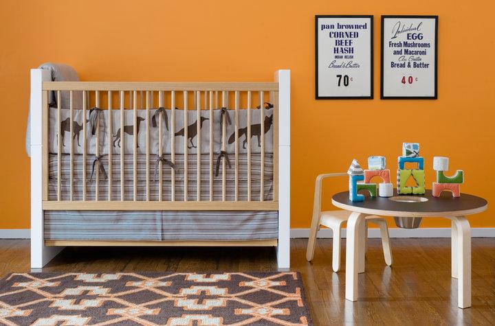DwellStudio Baby Crib Bedding - Animals