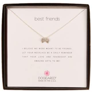 Dogeared Best Friends Wing Charm Necklace
