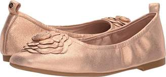 Taryn Rose Women's Rosalyn Powder Metallic Ballet Flat