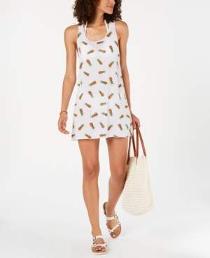Miken Juniors' Pineapple-Print Cover-Up, Created for Macy's Women's Swimsuit