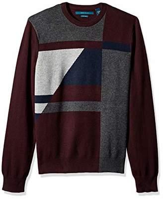 Perry Ellis Men's Color Block Sweater