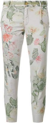 Mason cactus printed cropped trousers