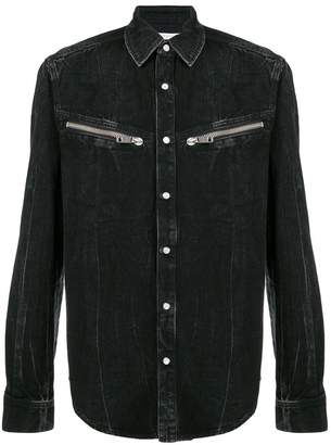 Givenchy zipped pocket shirt