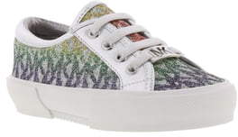 MICHAEL Michael Kors Ima Celestia Rainbow Glitter Logo Sneaker