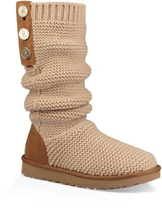 UGG Purl Cardy Knit Boot