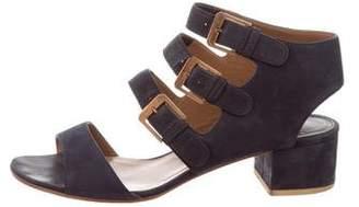 Laurence Dacade Multistrap Suede Sandals