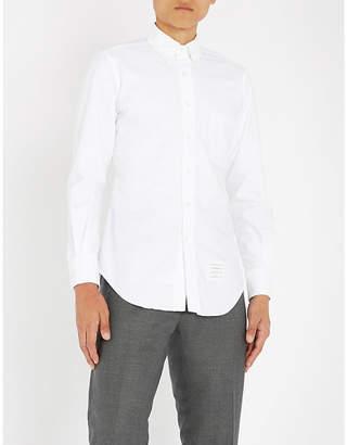 Thom Browne Slim-fit cotton-Oxford shirt