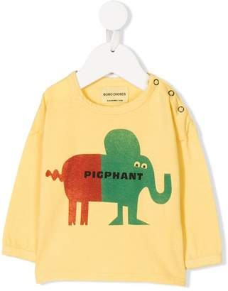 Bobo Choses elephant print top