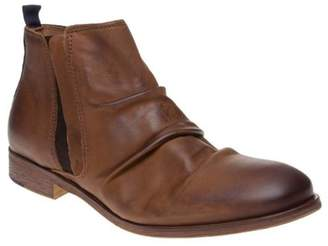 Sole New Mens Tan Abbot Leather Boots Chelsea Elasticated Pull On
