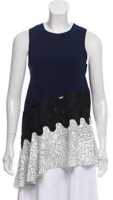 Jonathan Simkhai Sleeveless Printed Top