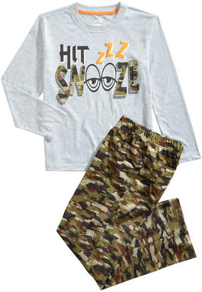LTB Max & Olivia Little & Big Boys 2-Pc. Snooze Pajama Set