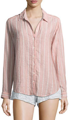 Xirena Scout Striped Lounge Shirt