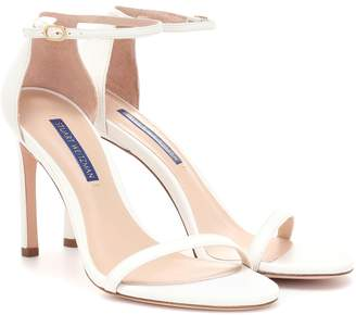 Stuart Weitzman Nudistsong leather sandals