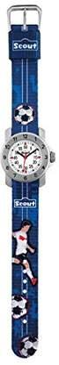 Scout Boys' Analogue Quartz Watch with Textile Strap 280376004