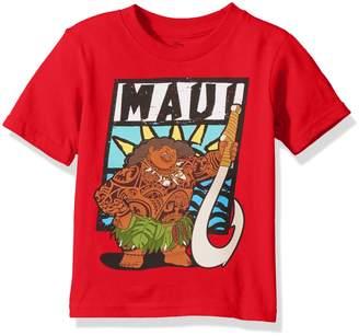 Disney Toddler Boys' Moana Short Sleeve T-Shirt