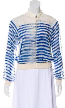 Jean Paul Gaultier Soleil Pen Stroke Striped Jacket