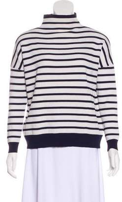 Whistles Striped Knit Sweater
