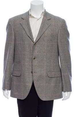 Brunello Cucinelli Three-Button Wool Blazer