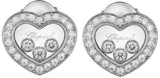 Chopard Happy Diamonds Icons Pavé Heart Earrings