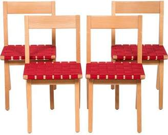 Knoll Set of 4 Jens Risom Child's Chairs