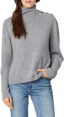 Habitual Colette Funnel Neck Cashmere Sweater
