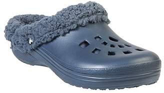 Dawgs Men's Fleece Indoor Outdoor Fluffy Clogs Slippers