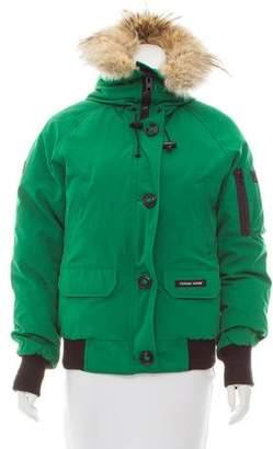 Canada Goose Chilliwack Fur-Trimmed Coat