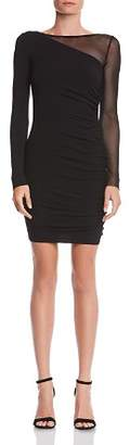 Bailey 44 Better Half Mesh-Inset Jersey Dress
