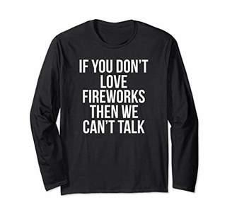 Fireworks Long Sleeve Shirt Boys Girls Kids