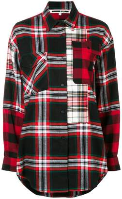 McQ tartan print shirt