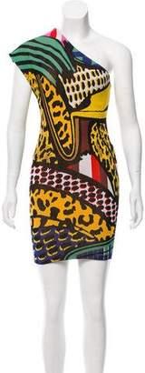 Stella McCartney Knit One-Shoulder Dress