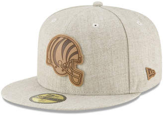 New Era Cincinnati Bengals Heathered Helmet 59FIFTY Fitted Cap