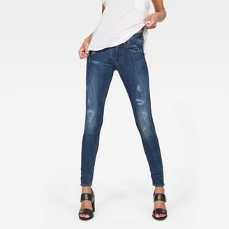 G Star Lynn D-Mid-Waist Super Skinny Jeans