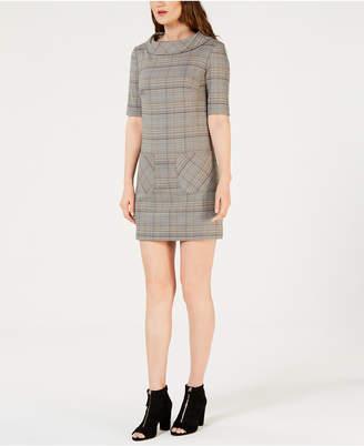 Trina Turk Plaid Shift Dress